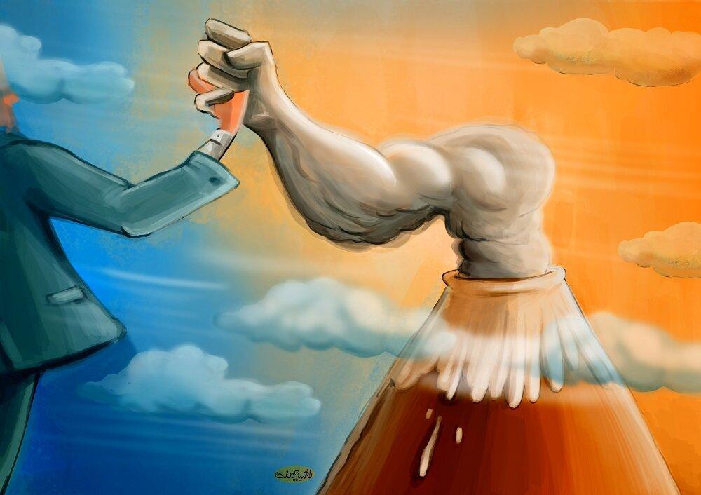 کارتون/ «حق محیط زیست سالم و توسعه پایدار»