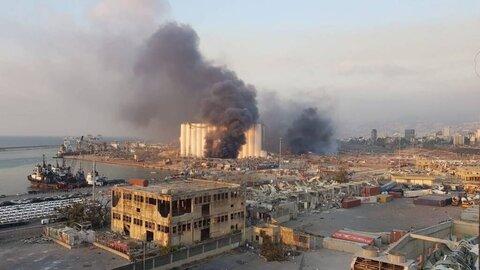 واکنش وزارت خارجه آمریکا به انفجار در بیروت