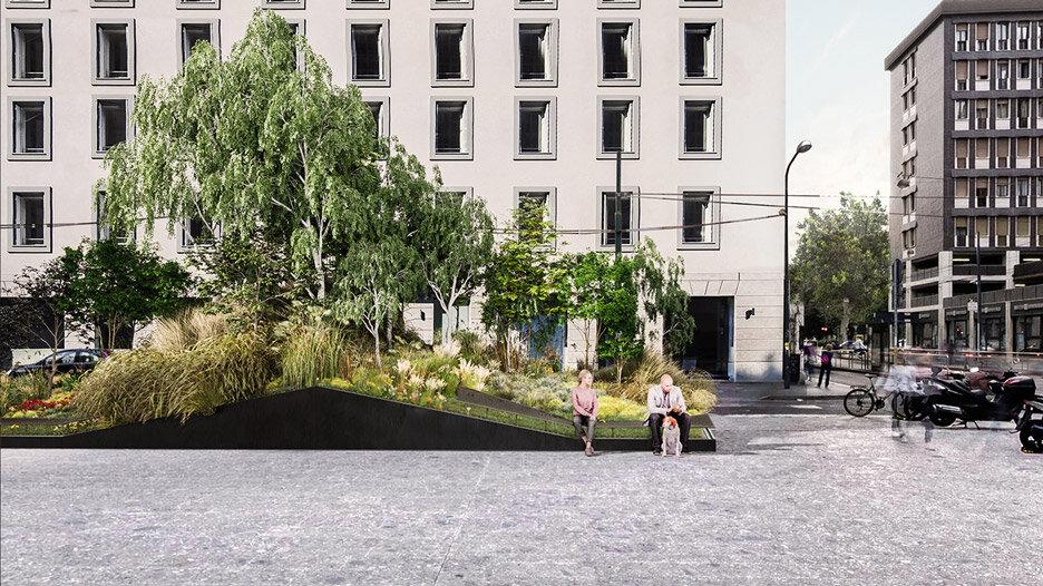 باغهای متحرک هوشمند در خیابانهای ایتالیا