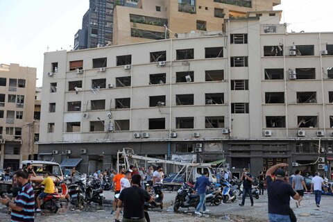 Beirut explosion in pictures