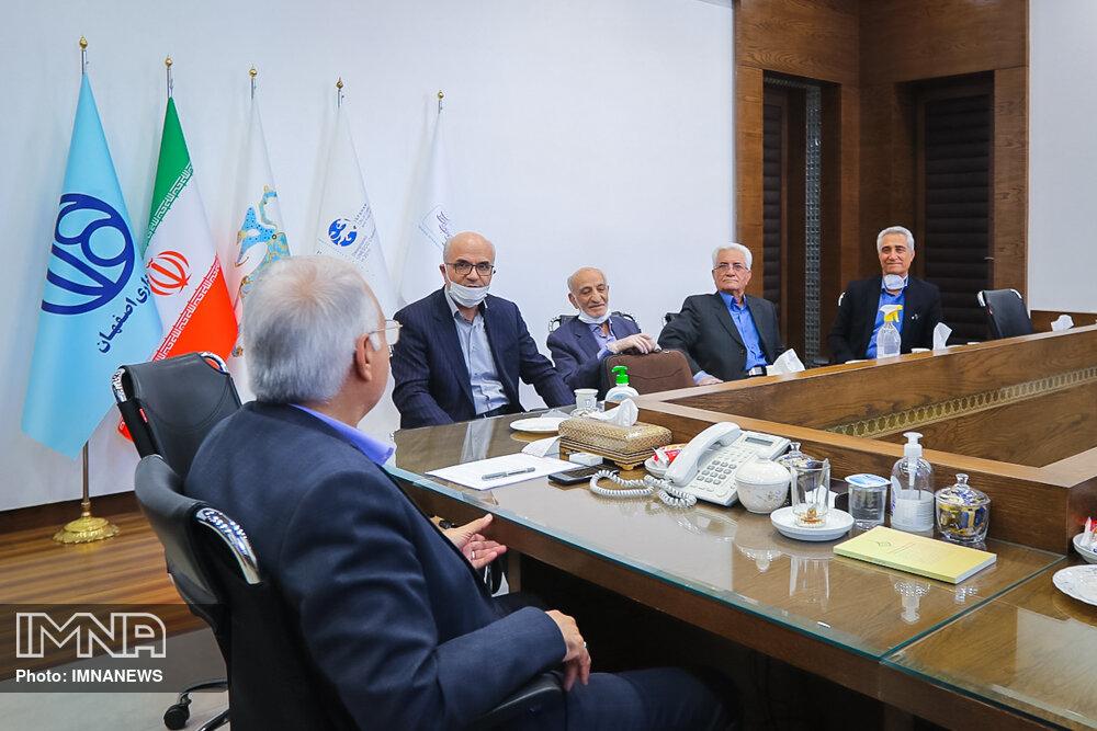 دیدارهای شهردار اصفهان