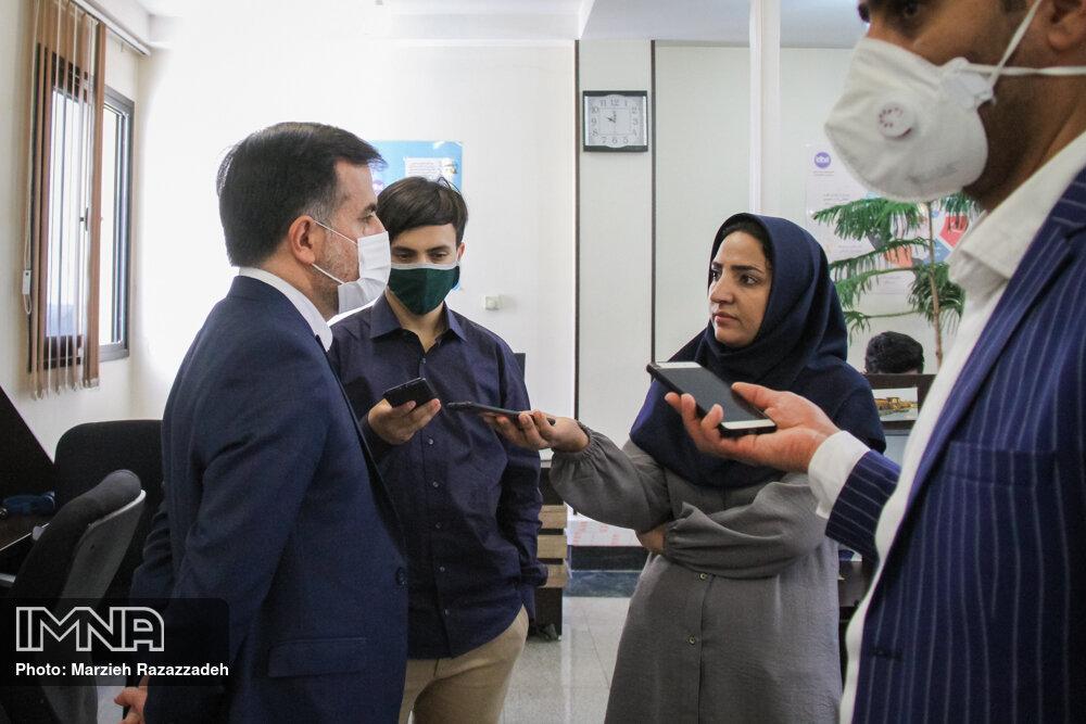 بازدید از خبرگزاری ایمنا در آستانه روز خبرنگار