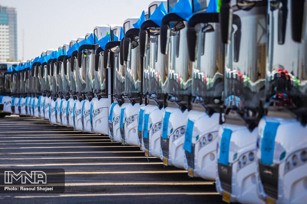 ناوگان اتوبوسرانی اصفهان جوان تر می شود