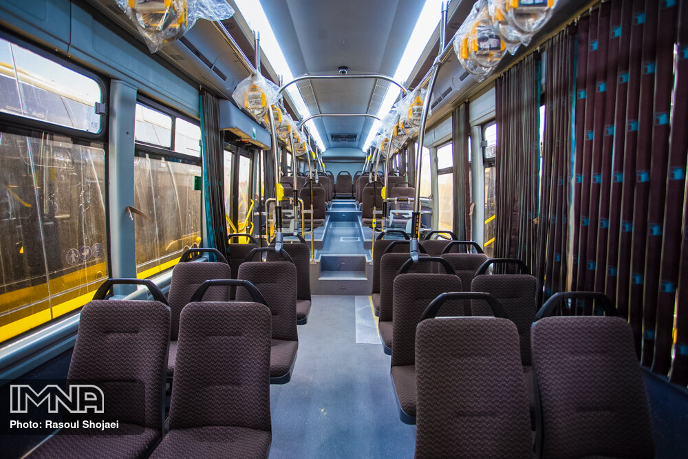 ناوگان اتوبوسرانی تهران برای فصول سرد تجهیز شد