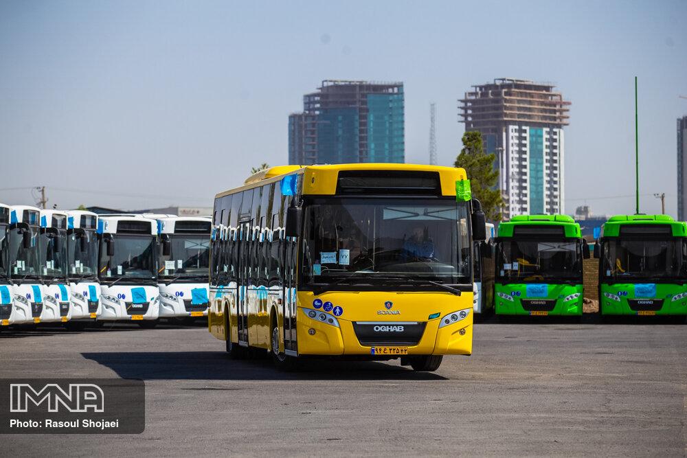 ۷۰۰ اتوبوس شهری اصفهان نوسازی می شود