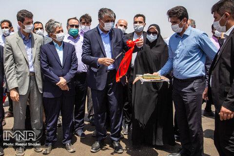 ۵ پروژه روکش آسفالت راههای استان اصفهان بهره برداری شد
