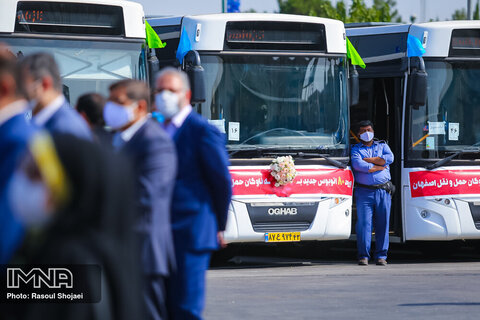 Isfahan welcomes 100 disabled-friendly new Euro 4 buses