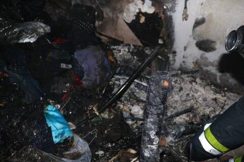 آتش سوزی مسکن مهر آستارا مصدومی نداشت