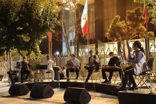 «آوای حنانه» در پهنه رودکی کنسرت اجرا کرد