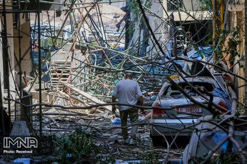 بیروت پس از انفجار