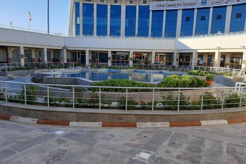دسترسی آسان مسافران به ساختمان پایانه مرکزی تبریز  با تمهیدات ویژه