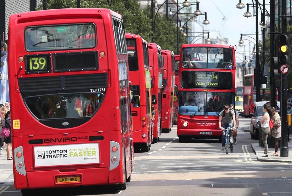 اقدام جالب اتوبوسرانی لندن برای دوران کرونا