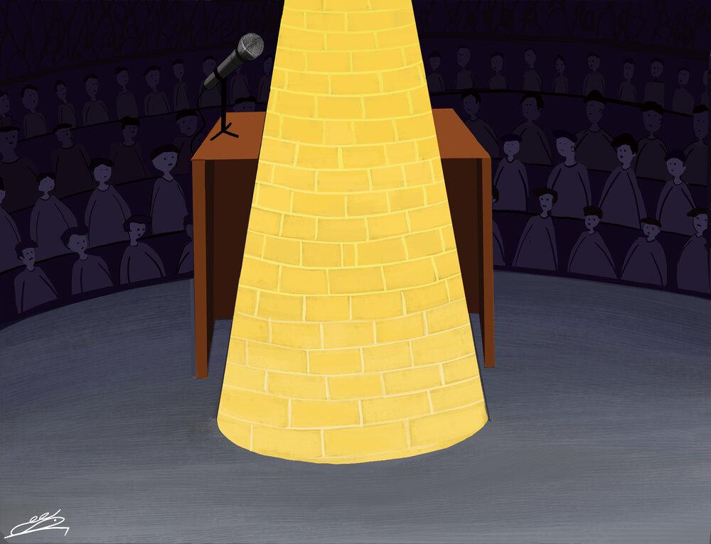 کارتون/ حق آزادی بیان