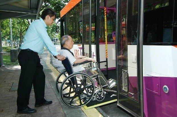 اتوبوسهای دوستدار معلول در سنگاپور افزایش مییابد