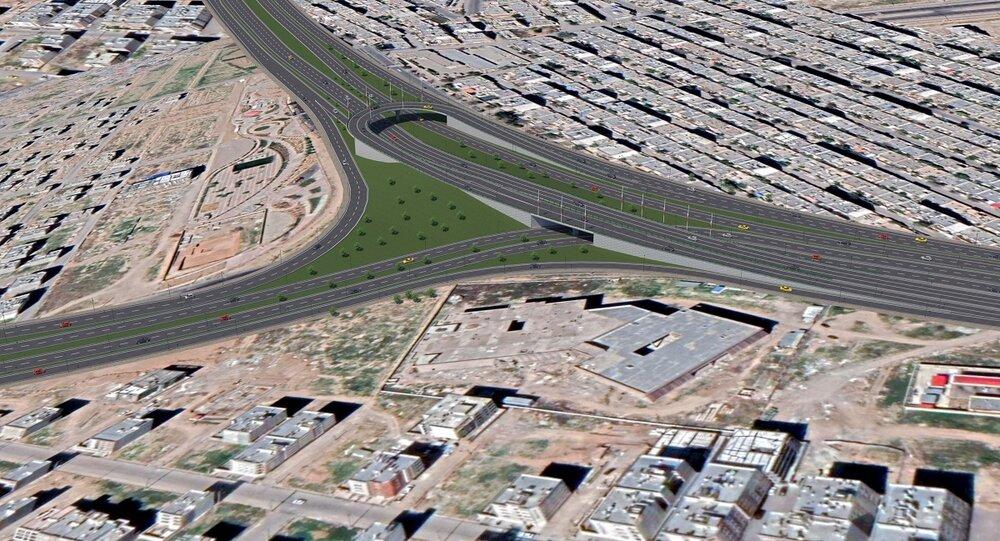 گره ترافیکی محور شمال غربی شیراز رفع می شود