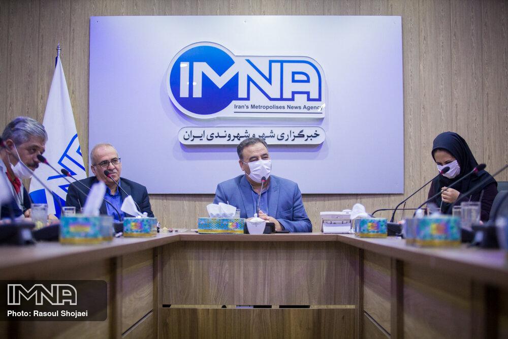 بازدید مدیران باشگاه ذوب آهن اصفهان از ایمنا