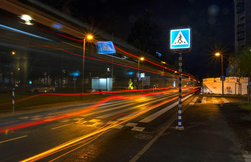 خطوط هوشمند عابر پیاده در شهرهای اروپایی