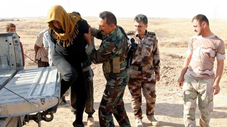 یک گروه نفوذی داعش دستگیر شدند