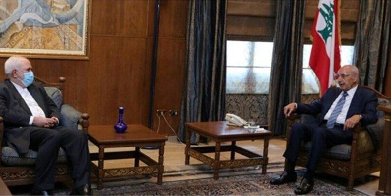 ظریف با رئیس پارلمان لبنان دیدار و گفتوگو کرد