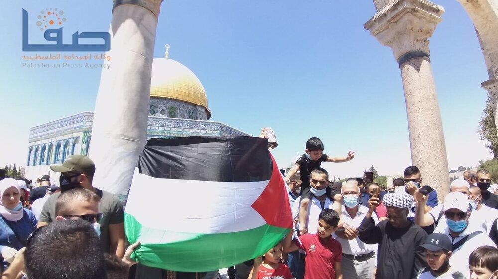 تظاهرات مردم فلسطین علیه توافق اماراتی-صهیونیستی