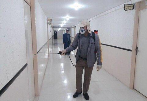 مدارس سطح شهر ارومیه به طور مستمر ضدعفونی میشود
