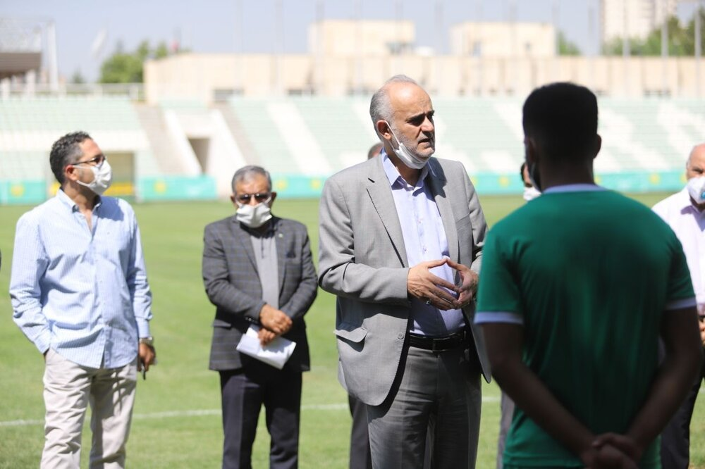 کناره گیری دبیرکل فدراسیون فوتبال ایران