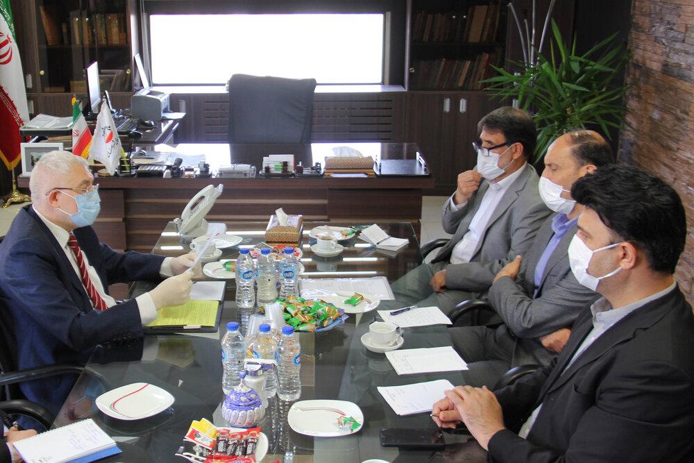 ابلاغ پیام تبریک رئیس پارلمان سنپترزبورگ به رئیس شورای شهر اصفهان