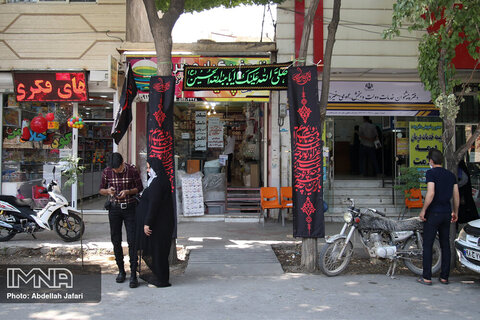 Muharram draped Isfahan in black