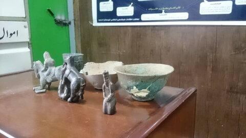 ۱۱۰ قلم شئ تاریخی در کرمان کشف و ضبط شد