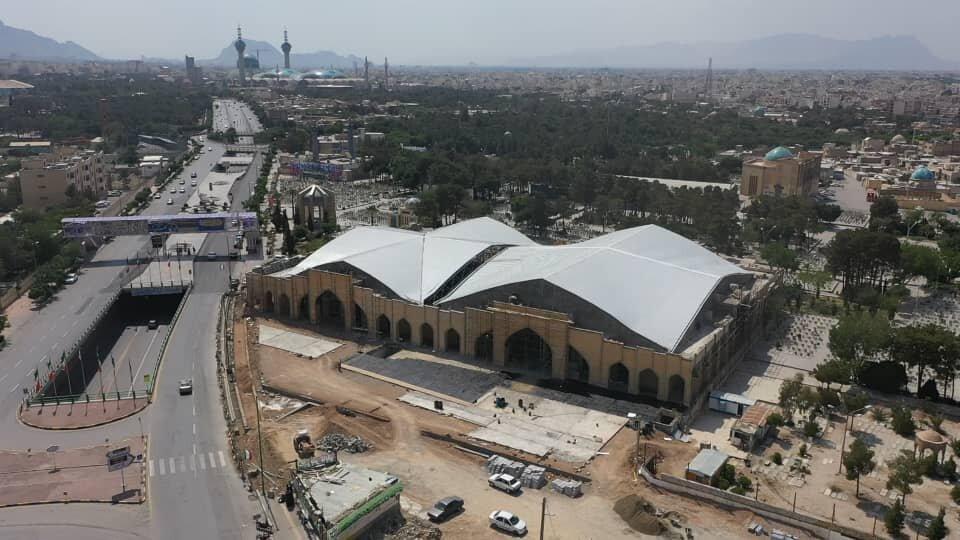 تکمیل پروژه سالن اجتماعات گلستان شهدا تا پایان شهریورماه ۹۹