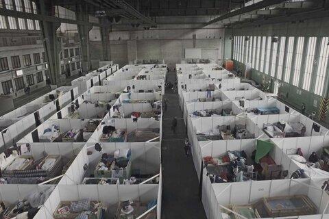 گشتی در کمپ پناهندگان بُنن