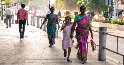 ایمنسازی شهرهای هند برای عابران پیاده