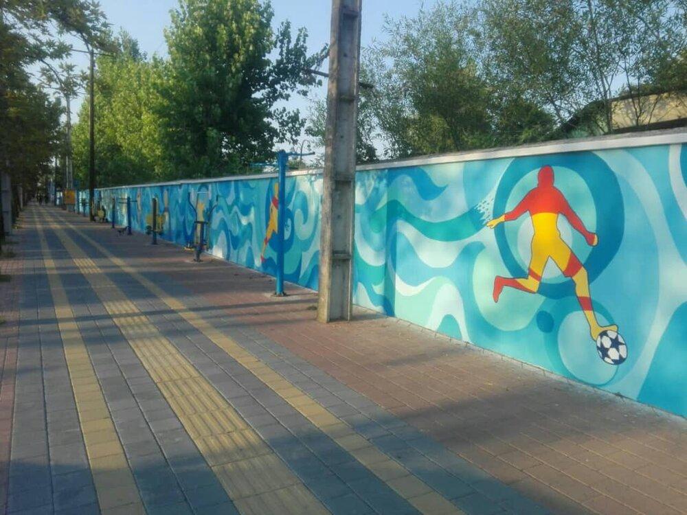افتتاح پروژه پیادهروسازی شهرداری هچیرود