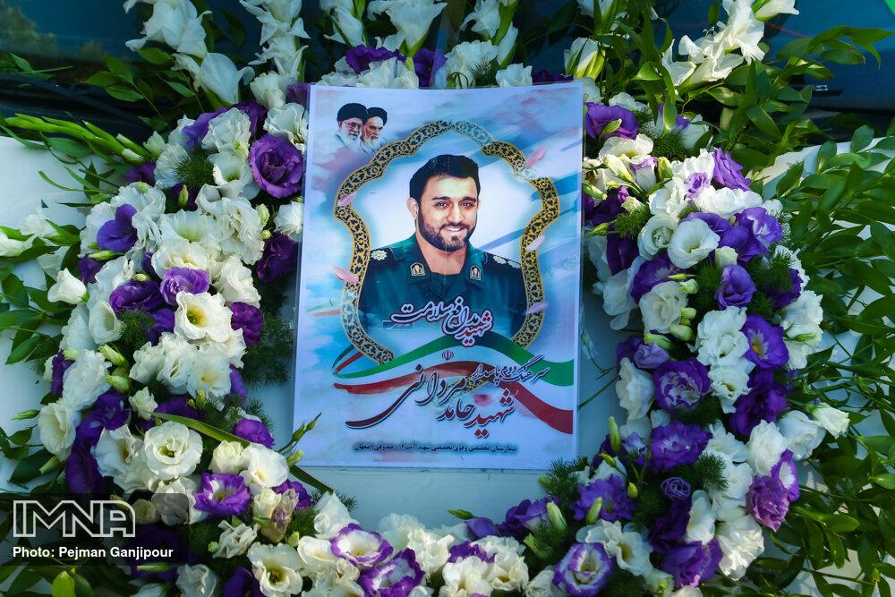 ششمین مدافع سلامت در گلستان شهدای اصفهان به خاک سپرده شد