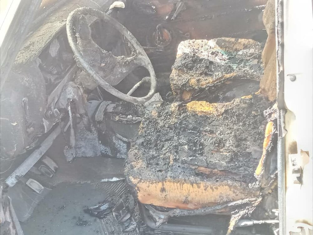 اجرت ۵۰۰ هزارتومانی برای به آتشکشیدن خودروی همسر سابق