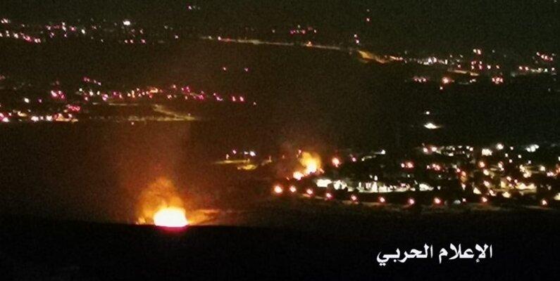 مقابله پدافند هوایی سوریه با حملات رژیم صهیونیستی