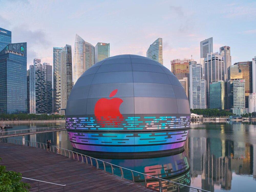 فروشگاه شناور اپل با طراحی جدید