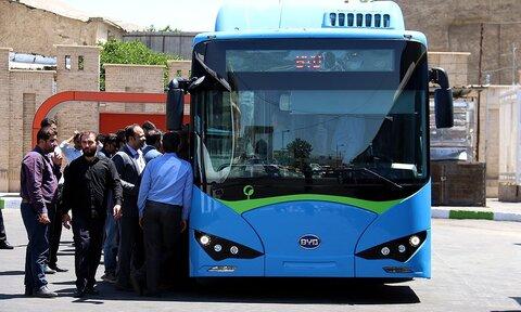 بازگشت فعالیت اتوبوسهای مشهد به روال عادی