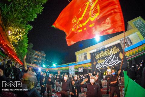 مراسم عزای حسینی در دبستان شهید حسن جعفریان