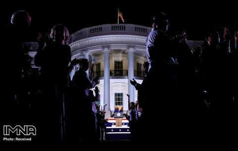 سخنرانی پذیرش دونالد ترامپ  به عنوان نامزد انتخابات ریاست جمهوری جمهوری خواه آمریکا در سال 2020