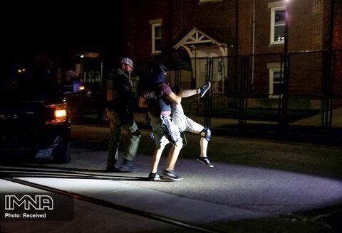 دستگیری معترضان به کشته شدن جیکوب بلیک، مرد سیاهپوست آمریکایی توسط پلیس