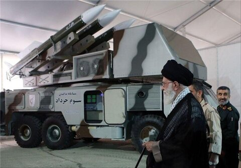 ابلاغ سلام رهبر انقلاب اسلامی به کارکنان پدافند هوایی
