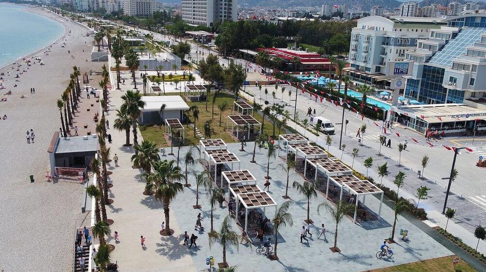 ایجاد جاذبههای اعجابانگیز در سواحل ترکیه