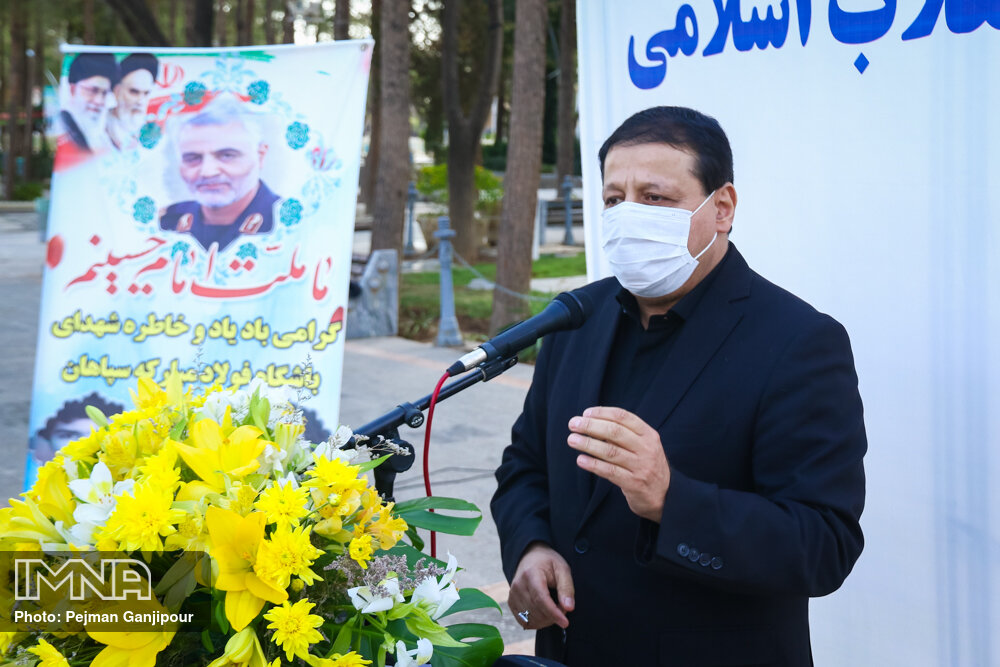 ساکت: سردار سلیمانی الگوی ورزشکاران است