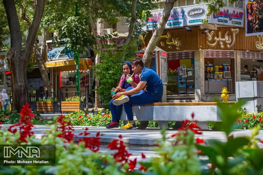 حرکت مرکز کلانشهر اصفهان به سمت آرامش و انسانمداری