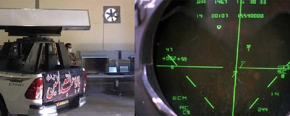 رونمایی از دو دستاورد مهم پدافند هوایی