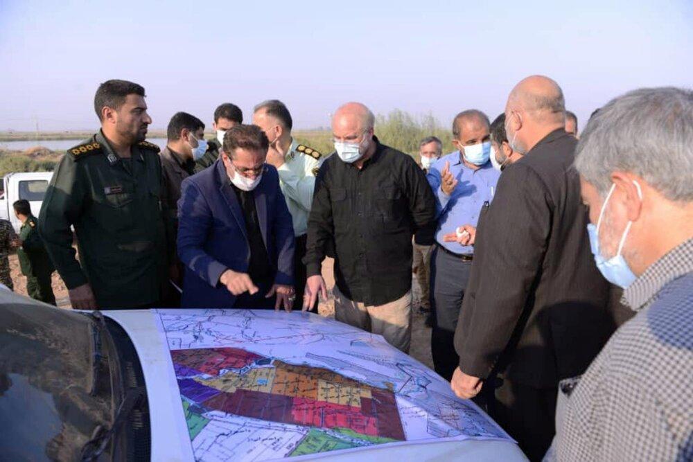 ۳۳ تصمیم نظارت میدانی رئیس مجلس در خوزستان