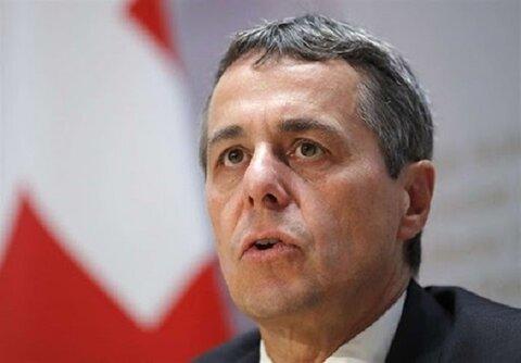 وزیر خارجه سوئیس حامل درخواست مذاکره ترامپ است