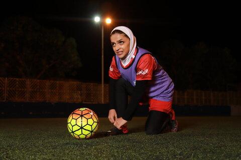 در تبریز اعتقاد دارند فوتبال بانوان باعث حاشیه است/حاضر نیستم بدون حجاب بازی کنم