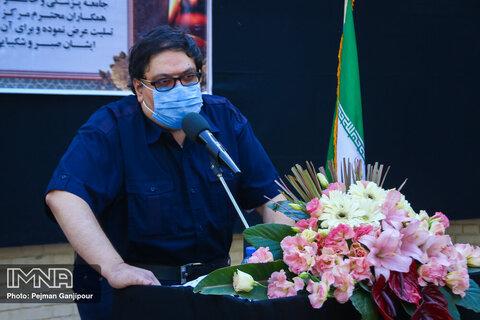 تشییع شهید مدافع سلامت سید محمود نوریان